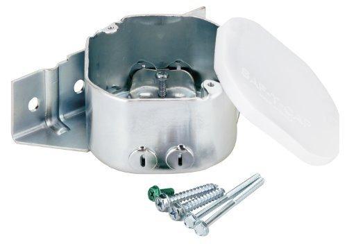 Westinghouse Fan Boxes - Westinghouse Lighting 0124011 Sidemount Plus Fan Box, 2-1/8-Inch Deep