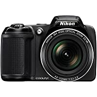 Nikon Coolpix L340 20.2MP Digital Camera with 28x Optical...