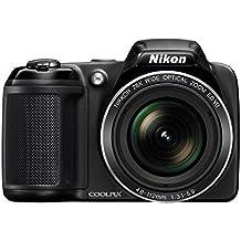 Nikon Coolpix L34020,2MP cámara digital con zoom óptico de 28x y 3.0-inch LCD (Negro)