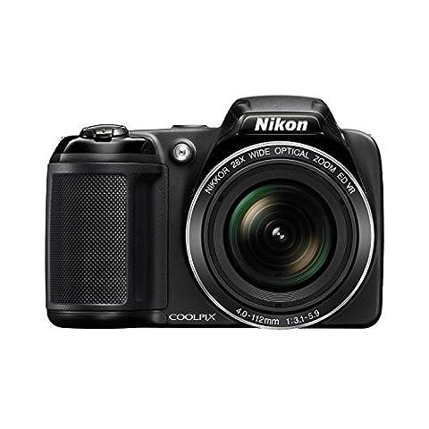 Nikon Coolpix L340 20.2MP Digital Camera with 28x Optical Zoom (Nikon D7200 Body)