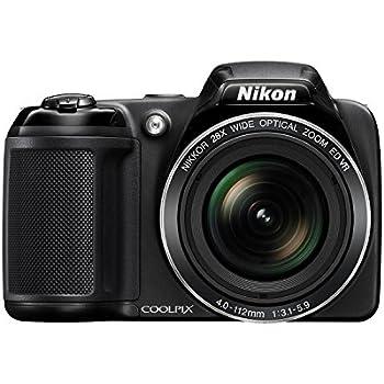 Nikon Coolpix L340 20.2MP Digital Camera with 28x Optical Zoom