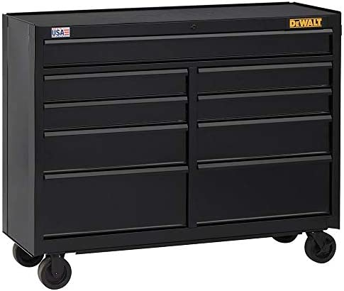 DEWALT 52 in. Wide 9-Drawer Rolling T