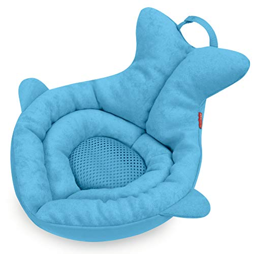 Skip Hop Moby Softspot Sink Bather, Baby Bath Cushion, Blue