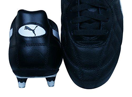 Chaussures Football Cuir Noir Liga Sg Homme Blanc De Classic Puma wSHgqB1
