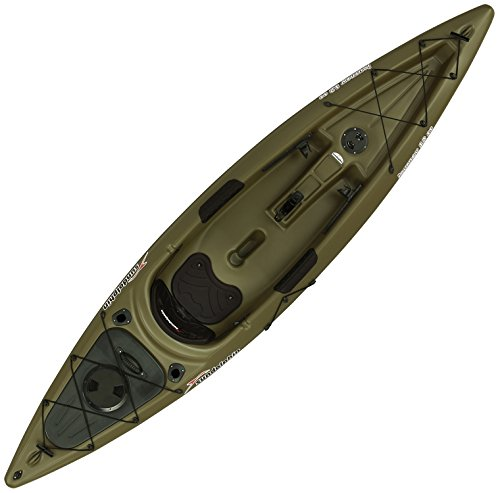 sun dolphin journey 12 foot sit on top fishing kayak