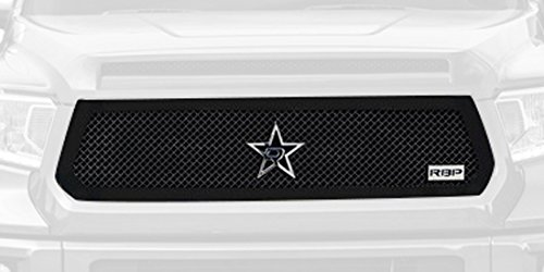 RBP RBP-254961 RL Series Black Plain Frame Main Grille for Toyota Tundra