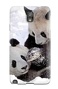 Kristen Turner MazvnaU1668PHdOp Protective Case For Galaxy Note 3(panda Bears )