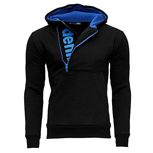 TAZZIO Herren Styler Sweatshirt mit Kapuze Pullover Hoodie 16215