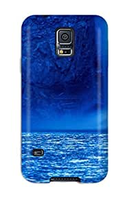 First-class Case Cover For Galaxy S5 Dual Protection Cover Waterfalls
