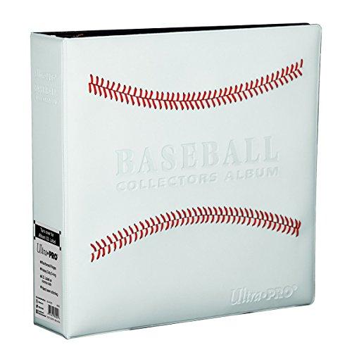 White Stitched Baseball Card Collectors Album