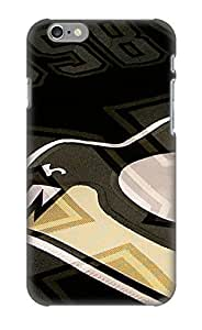 Defender Case For Iphone 6, Pittsburgh Penguins Nhl Hockey 55 Pattern, Nice Case For Lover's Gift by runtopwell