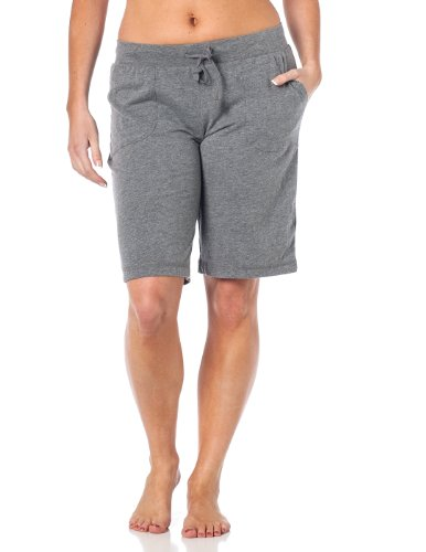 Womens Bermuda Drawstring Shorts