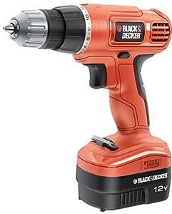 Black & Decker EPC12CA Cordless Drill Driver 12 V