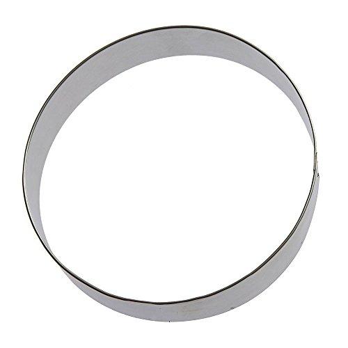 Foose Round Circle Cookie Cutter 6 in