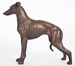 Italian Greyhound: Cold-cast Bronze Figurine 5.5 Inches Long