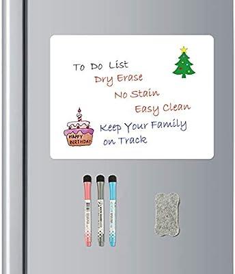 Amazon.com: Bieco - Pizarra blanca magnética de borrado en ...