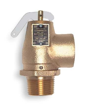 Safety Relief Valve, 1-1/2 x 2 In, 15 psi ()