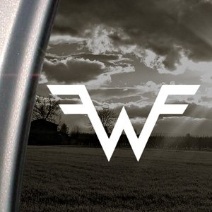 Weezer Decal Rock Band Car Truck Bumper Window Sticker (Weezer Rock)
