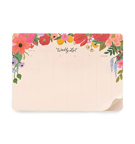 Rifle Paper Co. Garden Party Weekly Desk Pad (Rifle Paper Calendar)