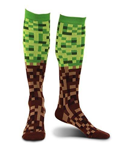 elope Pixel Brick Knee High Socks