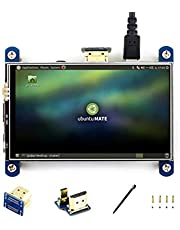 Waveshare 4inch HDMI LCD IPS Display 800 * 480 Resistive Touch Screen HDMI Module for Raspberry Pi 3/2/1 Model B/B +/A/A +