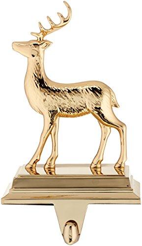 Lenox 871170 Golden Holidays Reindeer Stocking Holder