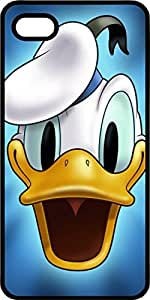 Donald Duck Black Rubber Case for Apple iPhone 5 or iPhone 5s