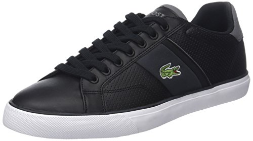 Lacoste Herren Fairlead 118 1 Cam Sneaker Schwarz (Blk/dk Gry)
