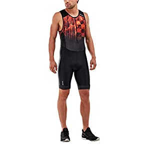 2XU Men's Perform Front Zip Tri Suit