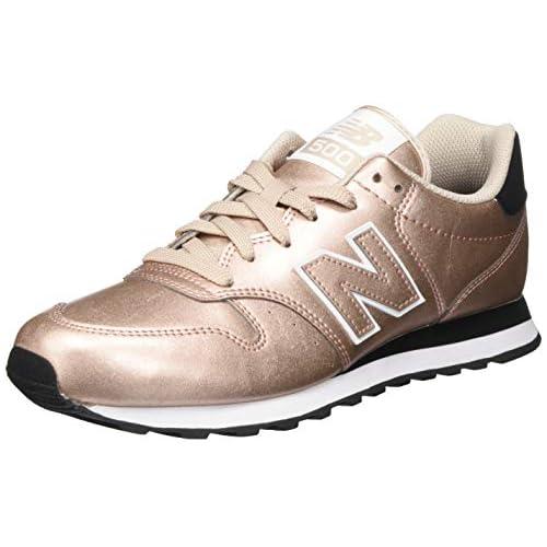 chollos oferta descuentos barato New Balance 411 Zapatillas para Mujer Champaign Metálico 43 EU