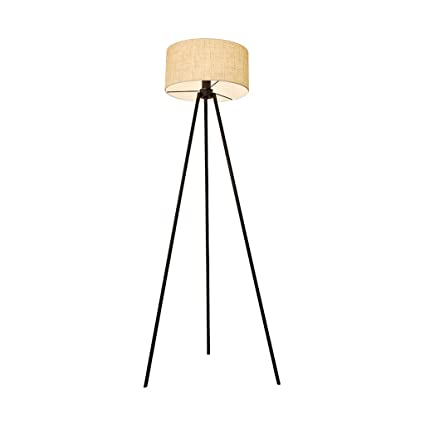 WHYDIANPU Luz del hogar Lámpara de pie trípode · Lámpara ...