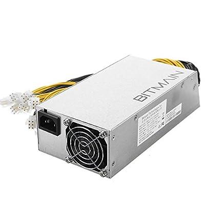 AntMiner Power Supply (APW3++ 1200W@110v 1600W@220v w/ 18 Connectors)