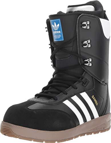 adidas Samba Adv Snowboard Boots Black/White/White Mens Sz 12 (Snowboard Boots Mens Size 12)