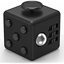 Maxboost Fidget Cube Focus Fidget Toy Cube Prime Reliever 6 Side Phone Stress Ball (1-Pack) Anti-anxiety /Depression Dice for Children Students Adults - Great Figit Cube for Work, Class and Home