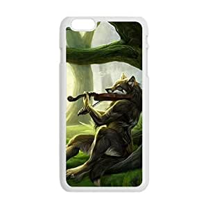 Artistic wolf with guitar Case for Iphone 6Kimberly Kurzendoerfer