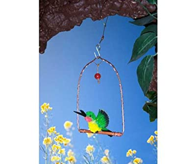 Songbird Essentials SEHHHUMS Copper Hummingbird Swing by Songbird Essentials