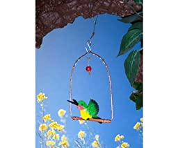 Songbird Essentials SEHHHUMS Copper Hummingbird Swing (Set of 1)