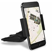 UXOXAS Multi Function Car CD Port On Board Mobile Phone Holder