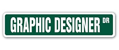 GRAPHIC DESIGNER Street Sign web design artist logo commercial art
