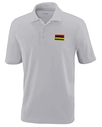0cd125ec Image Unavailable. Image not available for. Color: Speedy Pros Polo  Performance Shirt Mauritius Embroidery ...