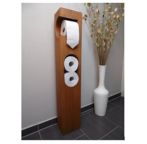 Top Toilettenpapierhalter Holz Eiche massiv: Amazon.de: Handmade WW94