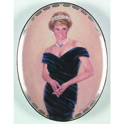 (Diana Queen of Our Hearts a Very Special Princess Bradford Exchange Plate)