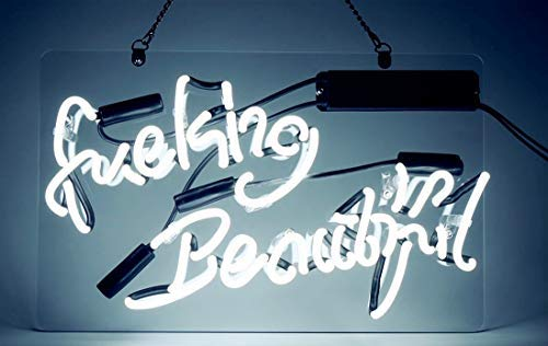Neon Lights Fuking Beautiful Neon Sign Handmade Glass