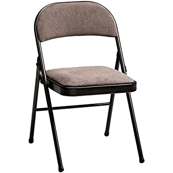 Charmant Meco 4 Pack Deluxe Fabric Padded Folding Chair, Cinnabar Frame And Corrin  Fabric Seat