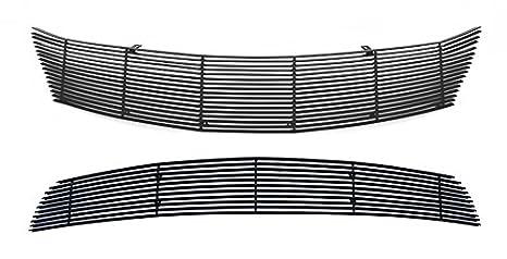 Fits 2003-2008 Nissan Murano Black Billet Grille Combo #N87819H