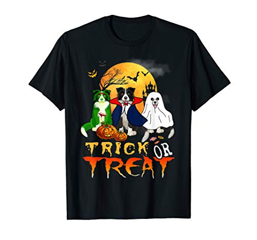 Halloween Border Collie (Halloween Border Collie Trick Or Treat Funny Border Collie)