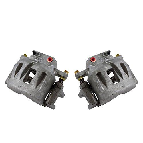 Callahan CCK11620 [2] FRONT Premium Grade OE Semi-Loaded Caliper Assembly Pair Set