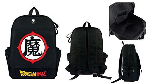 Dragonball Full Size School Backpack Goku Backpack King Kai Backpack Dragonball 4 stars backpack, Ma Demon Backpack