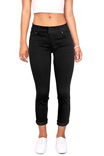 Cropped Capri Jeans - 6