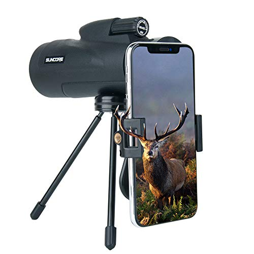 pe,Evershop Waterproof Phone Telephoto Lens with Low Night Vision with Phone Adapter and Tripod for Hunting/Camping/Travel ()